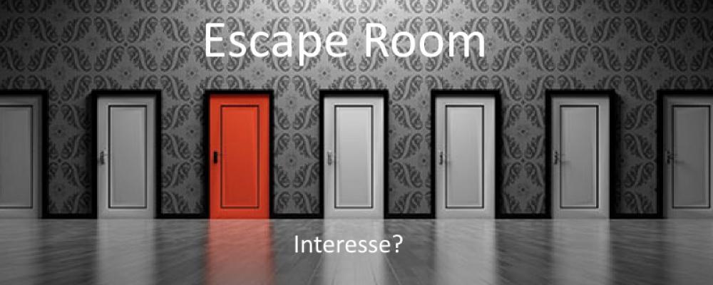 Bezoek escape room