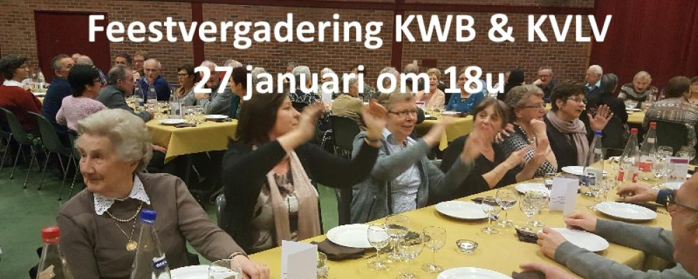 Feestvergadering KWB & & KVLV